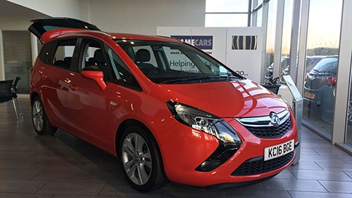 Featured This Week - Vauxhall Zafira Tourer