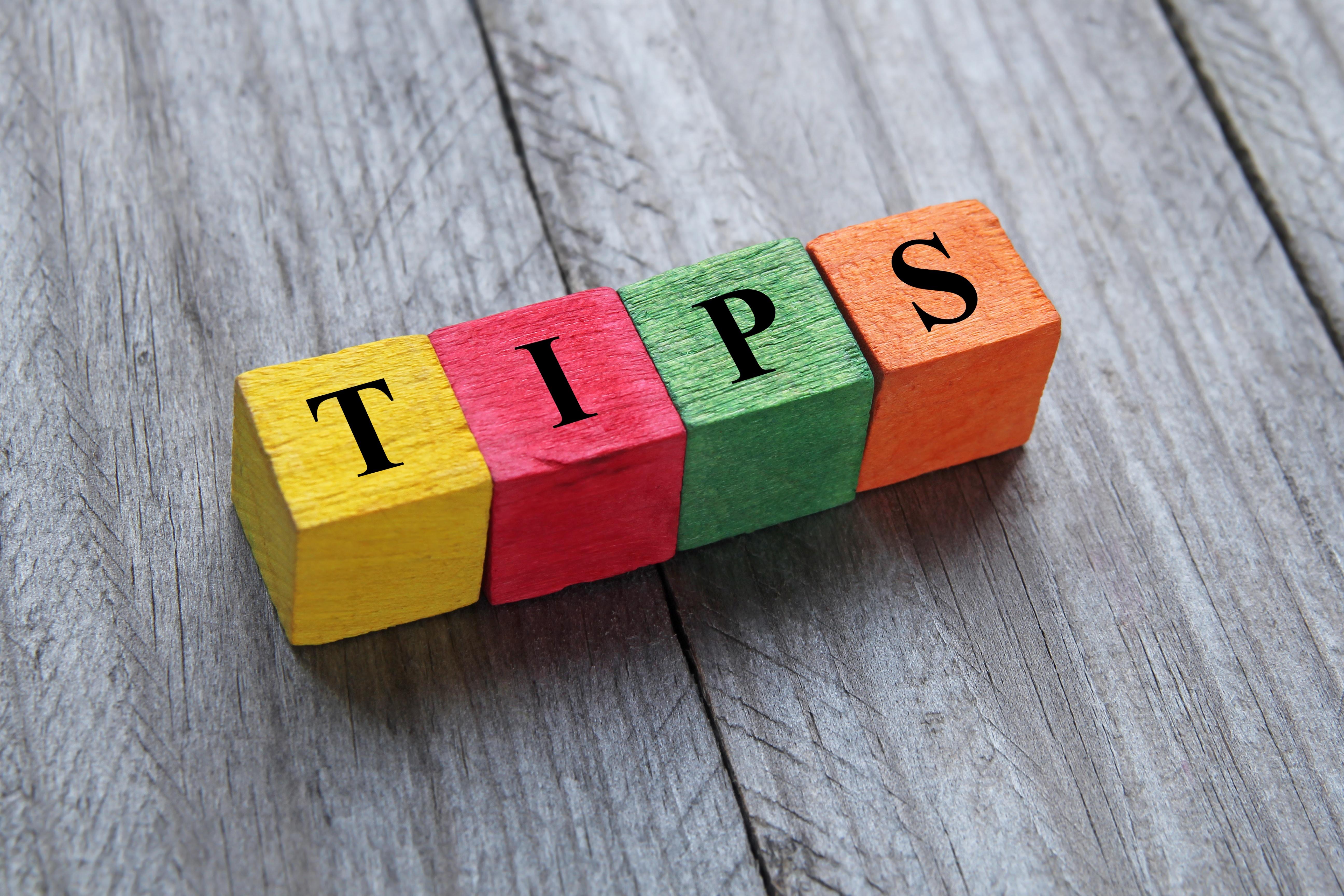 Insider Tips
